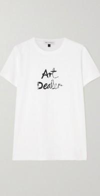 Art Dealer printed organic cotton-jersey T-shirt