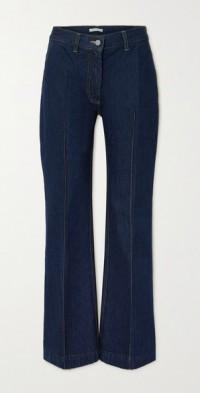 David organic high-rise wide-leg jeans