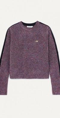 Teeny Bopper metallic knitted sweater