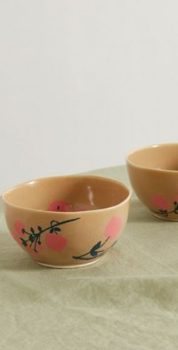 Set of two 13cm ceramic bowls
