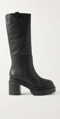Hana leather knee boots