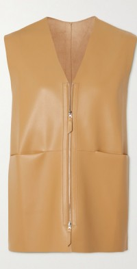 Nerea faux leather vest