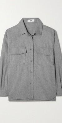 Roy wool-blend felt jacket