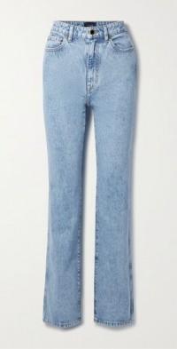 Danielle high-rise straight-leg jeans