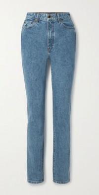 Daria high-rise slim-leg jeans