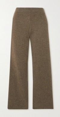 Ottawa organic cashmere straight-leg pants