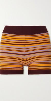 Lucid organic cotton-blend shorts