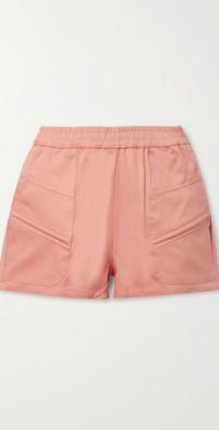 + NET SUSTAIN Prim cotton-twill shorts