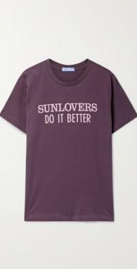 + NET SUSTAIN printed cotton-jersey T-shirt