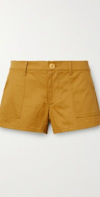 Kelly cotton-twill shorts