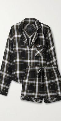 Kellen checked flannel pajama set