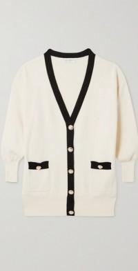Tancy cotton-blend cardigan