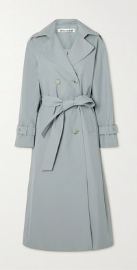 + NET SUSTAIN Holland cotton-blend twill trench coat