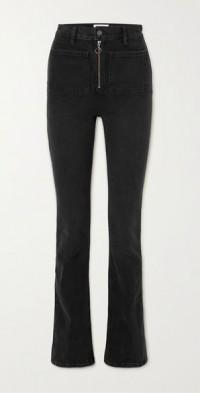 + NET SUSTAIN Peyton organic high-rise bootcut jeans