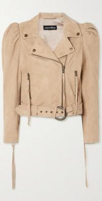 Tai suede biker jacket
