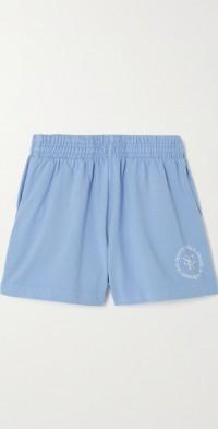 SRHWC printed cotton-jersey shorts