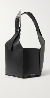 6 PM leather tote