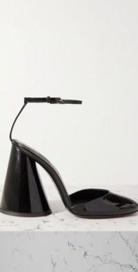 Luz patent-leather pumps