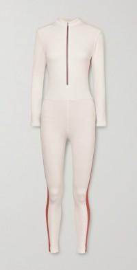 Selene Thermal striped stretch bodysuit
