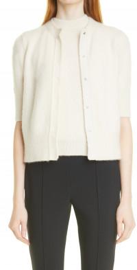 Women's Adam Lippes Colorblock Cashmere & Silk Cardigan