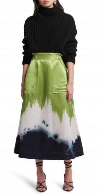 Aje Arcadian Midi Skirt