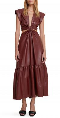 A.L.C. Alexandria Faux Leather Dress