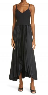A.L.C. Gwen Belted Sleeveless Dress