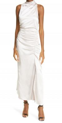 A.L.C. Inez Sleeveless Ruched Dress