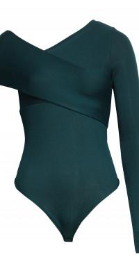 ALIX NYC Blake One Shoulder Rib Bodysuit