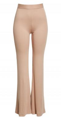 ALIX NYC Bowery High Waist Stretch Modal Flare Pants