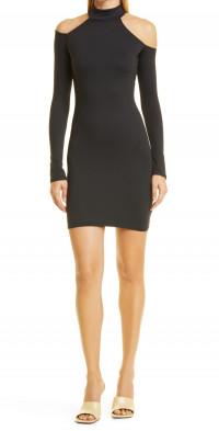 ALIX NYC Leona Cold Shoulder Long Sleeve Minidress
