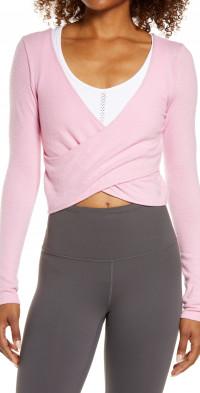 Women's Alo Amelia Luxe Crop Top