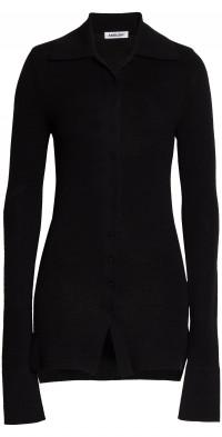 Ambush Button-Up Wool Blend Sweater