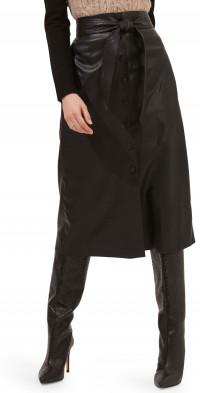 ASTR the Label Lorette Faux Leather Skirt