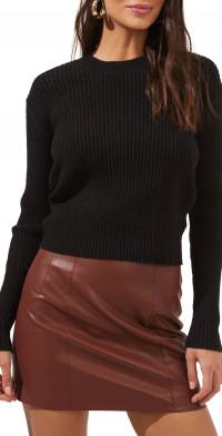 ASTR the Label Prescott Twist Back Cutout Sweater
