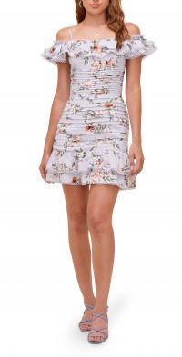 ASTR the Label Una Floral Off the Shoulder Minidress