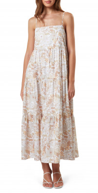 Charlie Holiday Isabella Tiered Ruffle Cotton Sundress