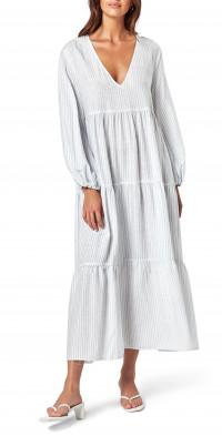 Women's Charlie Holiday Seaside Stripe Long Sleeve Dress