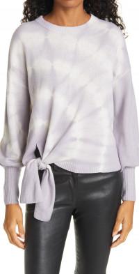 Cinq a Sept Cinq e Sept Clerisa Tie Dye Wool & Cashmere Sweater