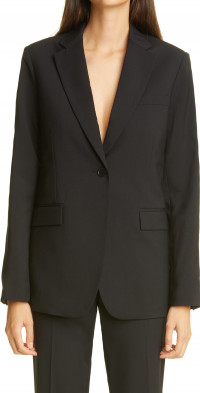 Women's Co Single Breasted Wool Jacket