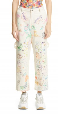 Women's Collina Strada Home & Garden Print Crop Jeans