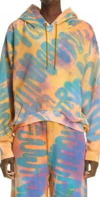 Women's Collina Strada Tie Dye Round Hem Hoodie