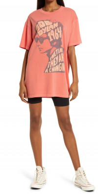 Daydreamer Bob Dylan 1964 Jersey Graphic T-Shirt Dress