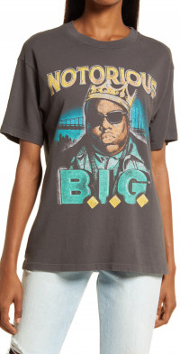 Daydreamer Notorious B.I.G. Crown Weekend Cotton Graphic Tee