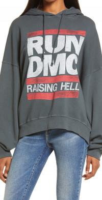 Daydreamer Run-DMC Raising Hell Oversize Graphic Hoodie