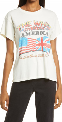 Daydreamer The Who Invades America Tour Graphic Tee