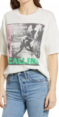 Daydreamer Women's The Clash London Calling Graphic Tee