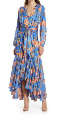 Elliatt Balance Long Sleeve Midi Dress