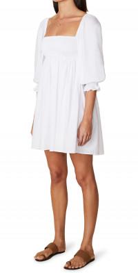 Faithfull the Brand Arles Smocked Minidress