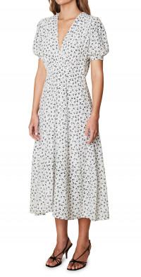 Faithfull the Brand Sonja Floral Midi Dress
